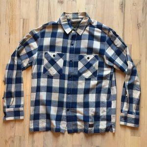 Neighborhood Plaid Cotton-Flannel Shirt